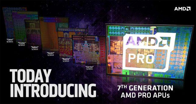 AMD 7th Gen Pro APU