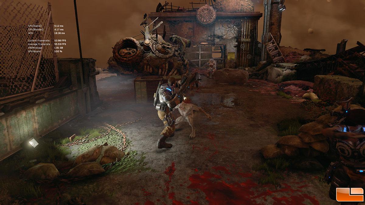 Gears of War 4 PC Performance Benchmarks - Legit