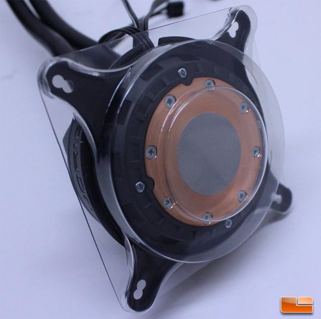 Cryorig Pump Base w/plastic protective cover