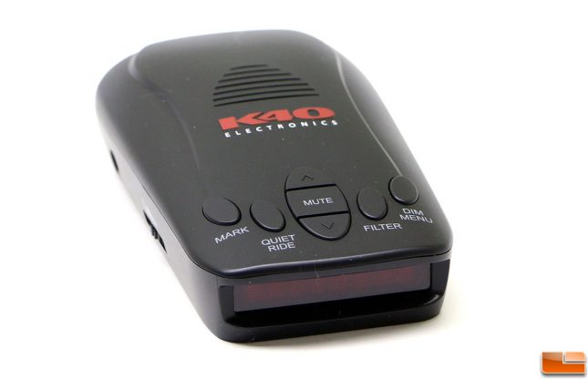 K40 RLS2 Radar Detector Display