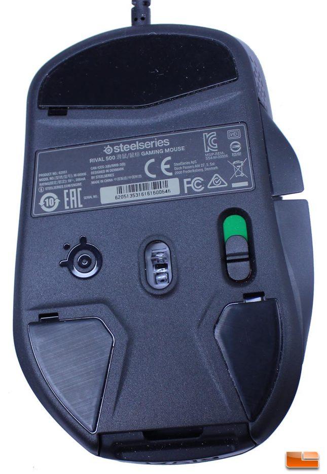 SteelSeries Rival 3360 Sensor Implementation