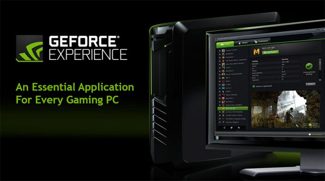 NVIDIA GeForce Experience