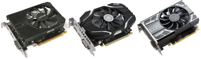 GeForce GTX 1050 Ti Roundup Video Cards
