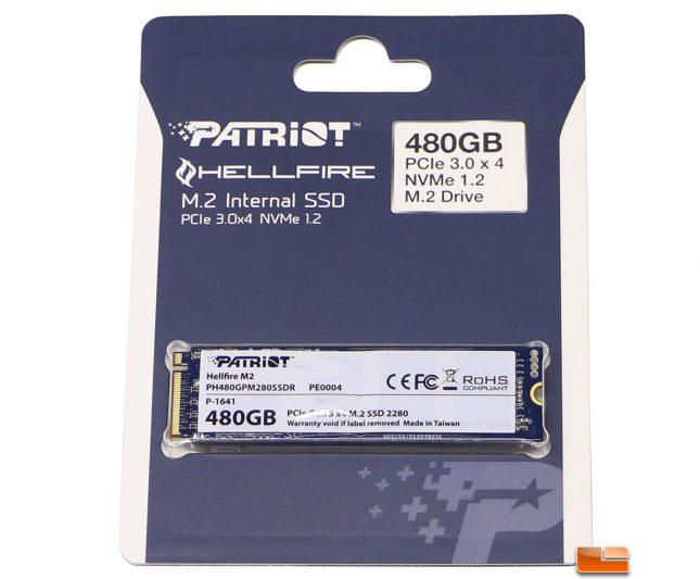 Patriot Hellfire M.2 PCIe NVMe SSD