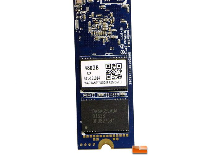 Patriot Hellfire M.2 MLC NAND Flash Chips