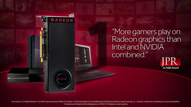 AMD Radeon Gamers