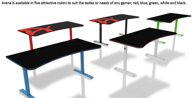 Arena Gaming Desk Color Choices