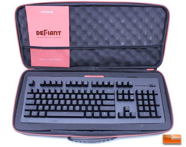 EpicGear DeFiant Keyboard Kit Opened