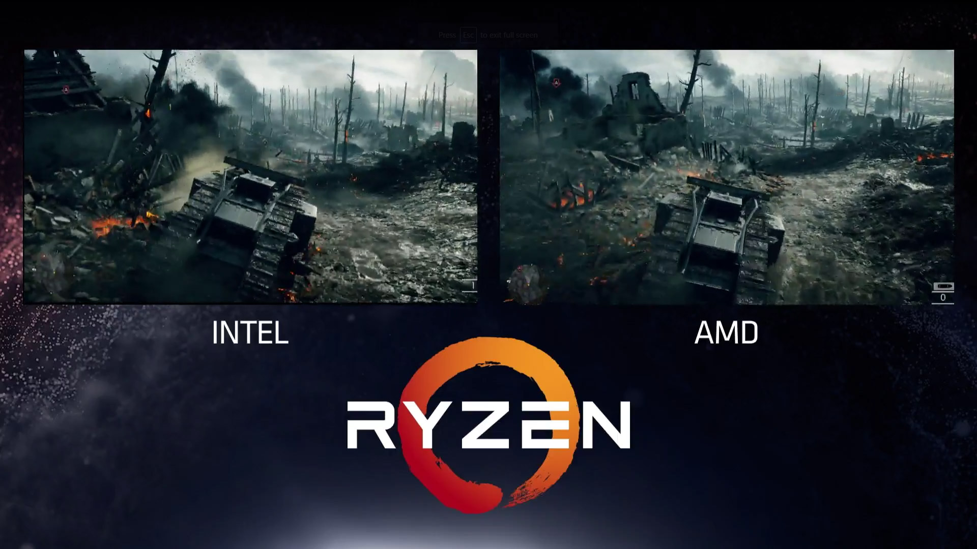 Amd Shows Intel Cant Keep Up With Ryzen On Games Legit