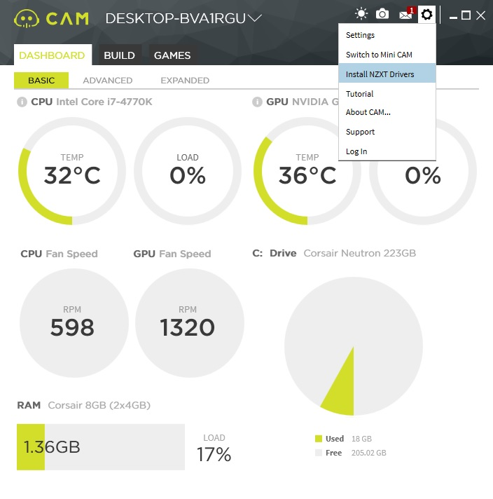 Nzxt X42 X52 And X62 Liquid Cpu Cooler Review Roundup Page 4 Of 8 Legit Reviewsnzxt Cam Software Kraken Lighting System