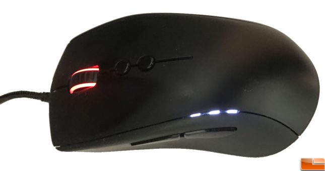 Fnatic Clutch G1 Gaming Mouse LED