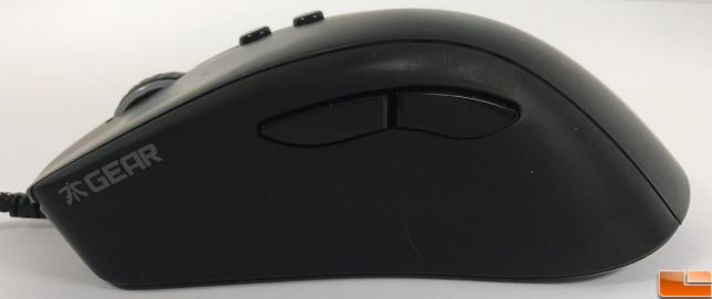 Fnatic Clutch G1 Gaming Mouse Side