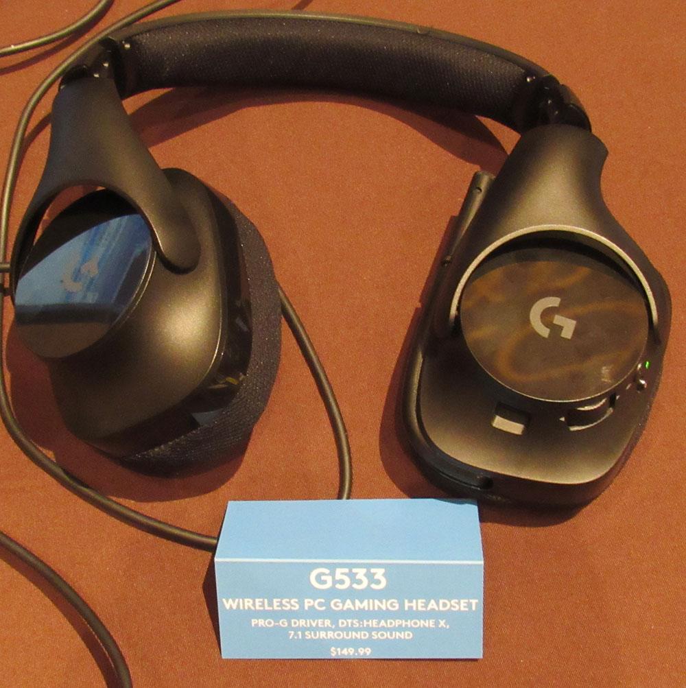 Logitech G Releases G533 PC Wireless Gaming Headset - Legit