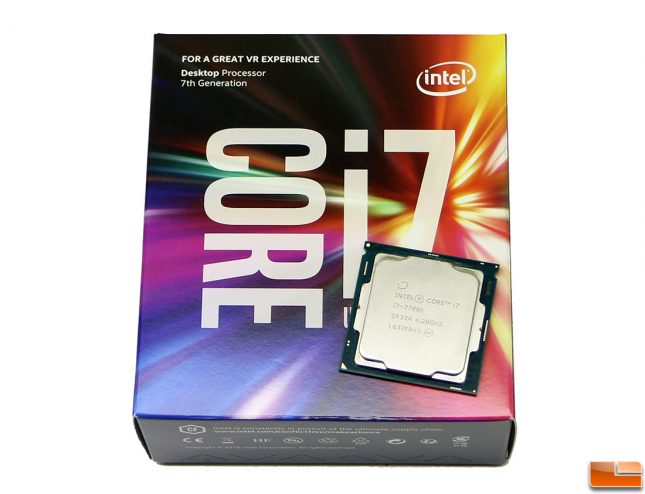 Intel Core i7-7700K Kaby Lake Processor