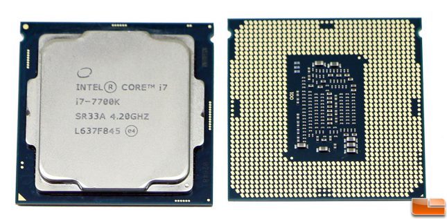 Intel Core i7-7700K Kaby Lake Processor