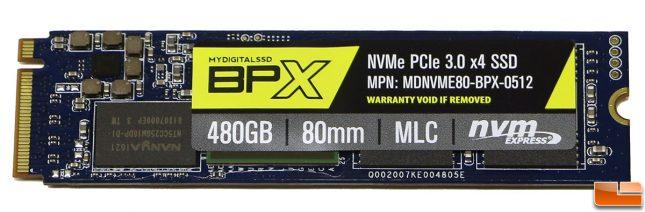 MyDigitalSSD BPX 480GB SSD