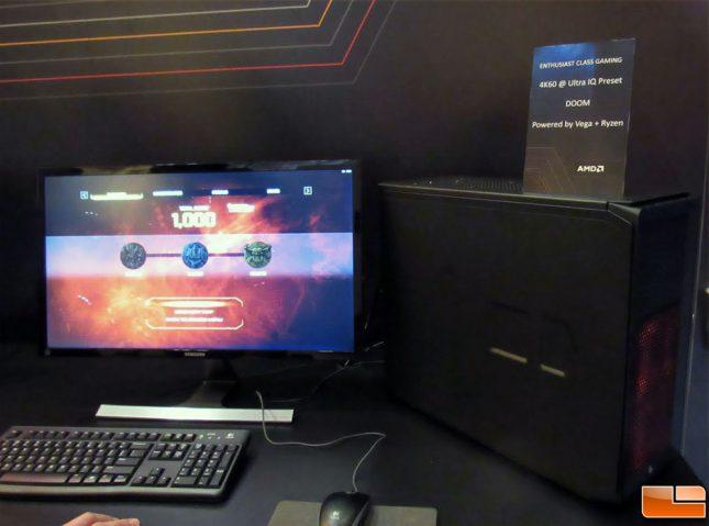 AMD Ryzen Vega Demo