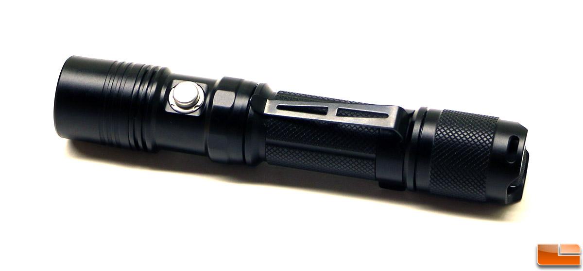 ThruNite TN12 (2016) XP-L v6 LED Tactical Flashlight Review ...