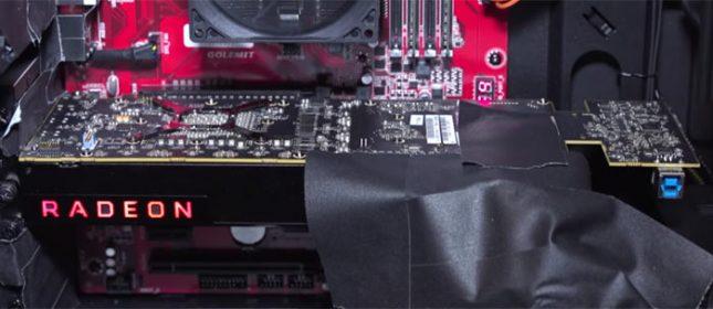 AMD Vega 10 Graphics Card