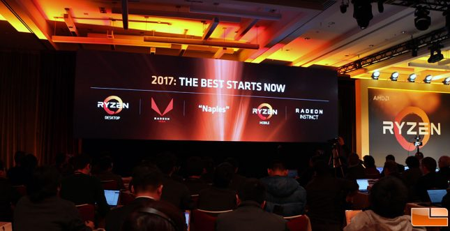 AMD Ryzen Tech Day Logos
