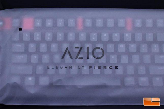 Azio Armato Keyboard Packaging