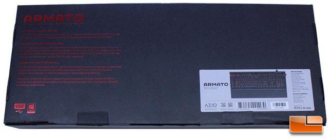 Azio Armato Box Rear