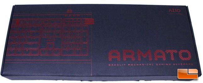 Azio Armato Retail Packaging