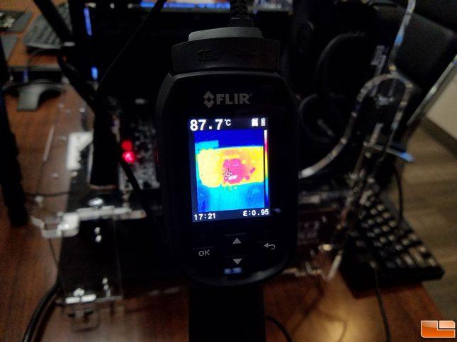 EVGA GeForce GTX 1080 FTW Temperature