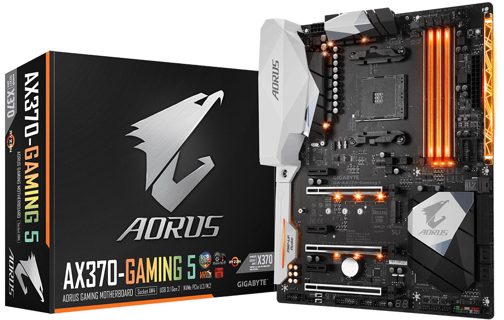 Gigabyte Aorus AX370-Gaming 5 Motherboard Review - Page 5 of