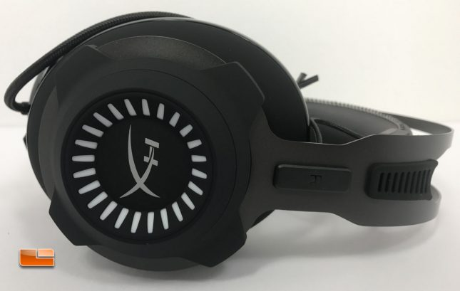 HyperX Cloud Revolver S Gaming Headset Earcup Logo