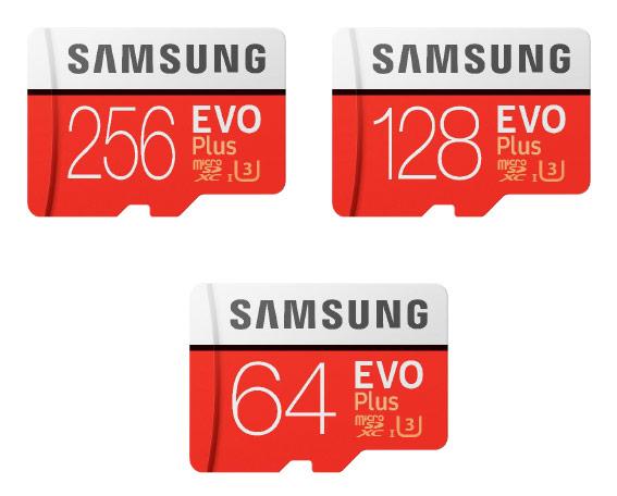 Samsung EVO Plus MicroSDXC Memory Cards