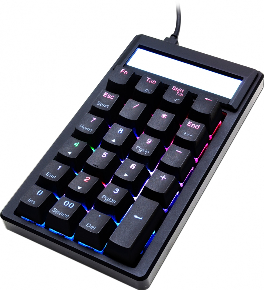 Ducky Pocket RGB Mechanical Number Pad Calculator Review