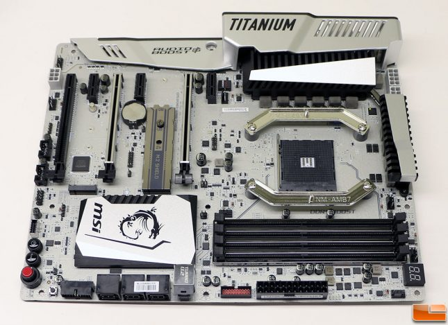 MSI X370 Motherboard