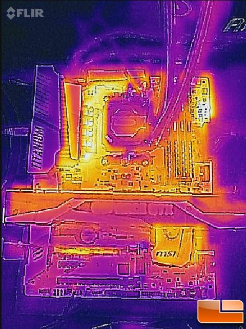MSI X370 Thermal Imager