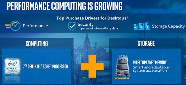 Desktop Performance Computing - Intel Optane Memory