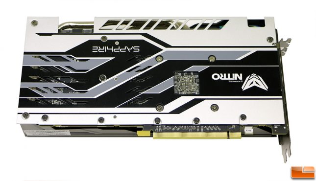 Sapphire NITRO+ Radeon RX 580 Limited Edition Backplate