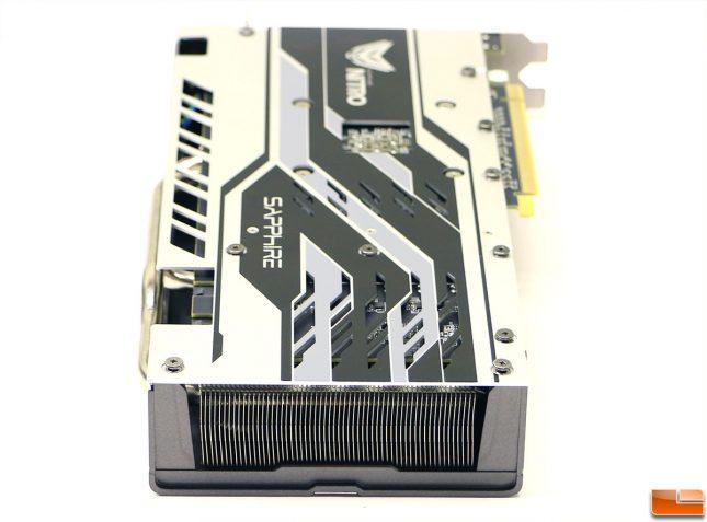 Sapphire NITRO+ Radeon RX 580 Limited Edition GPU Cooler