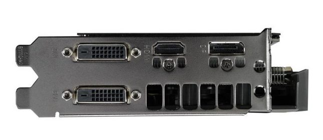 ASUS Geforce GTX 1050Ti 4GB ROG STRIX OC Edition Video Outputs