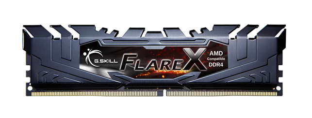 G.Skill Flare X DDR4 Memory For AMD Ryzen