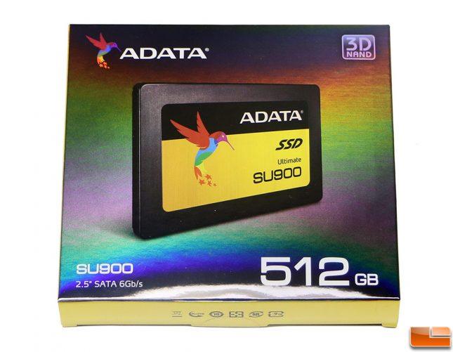 ADATA SU900 Ultimate SSD Retail Packaging 512GB Model