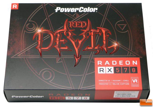 PowerColor Red Devil Radeon RX 570 Video Card