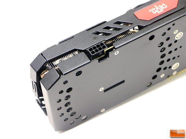 PowerColor Red Devil Radeon RX 570 4GB Power Connector