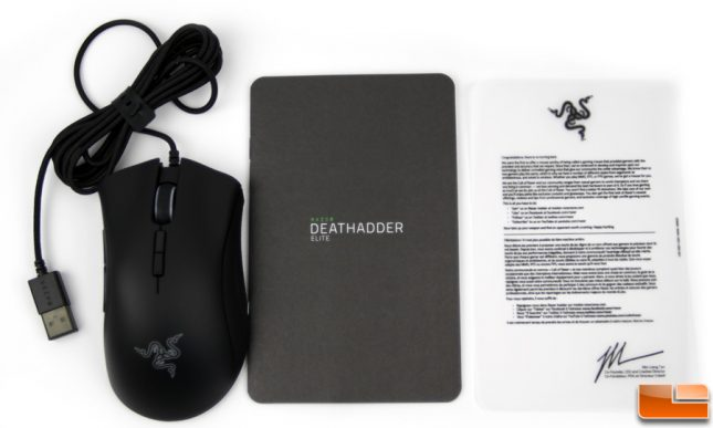 Razer Death Adder Elite Contents