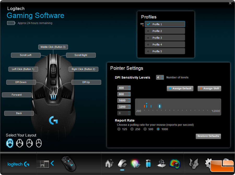 logitech g900 chaos spectrum wireless gaming mouse review page 3 of 4 legit reviewslogitech. Black Bedroom Furniture Sets. Home Design Ideas