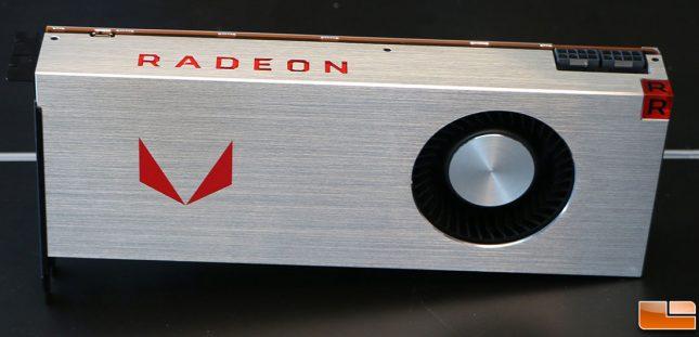 AMD Radeon RX Vega 64 Video Card Front
