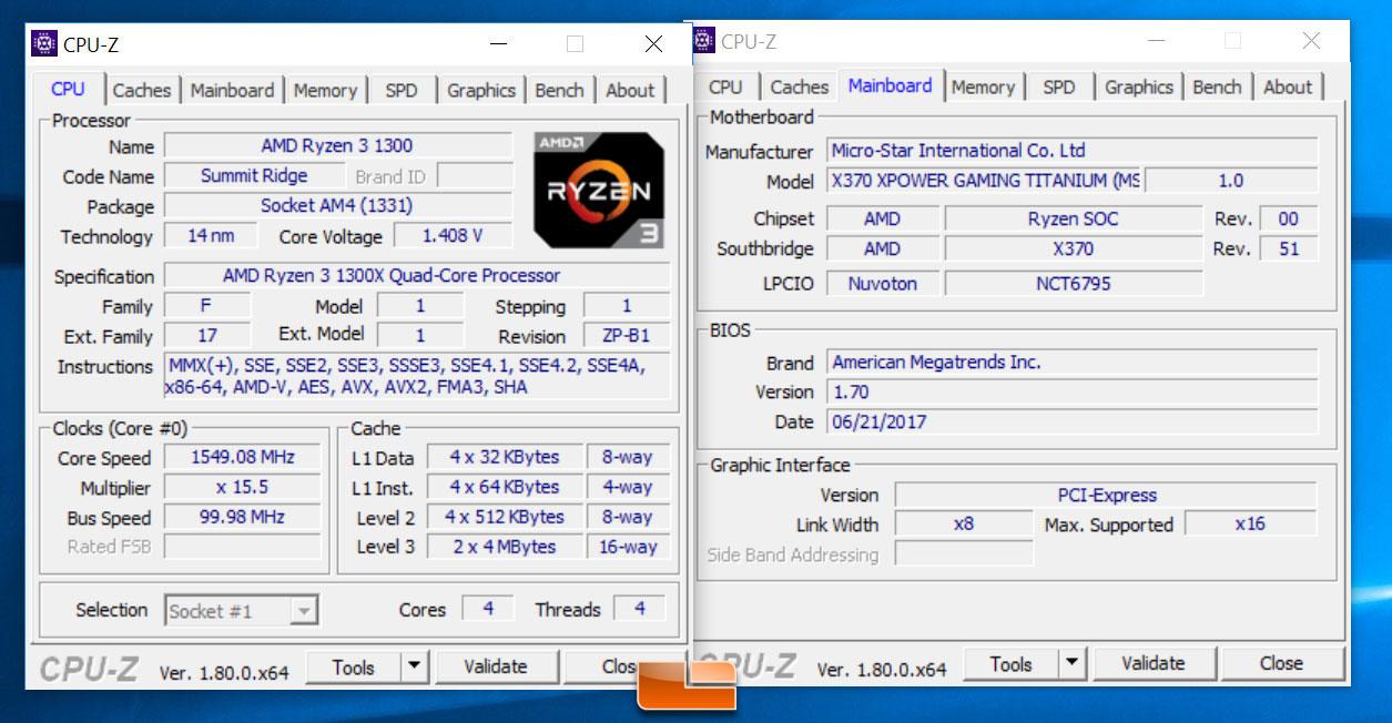 AMD Ryzen 3 1200 and Ryzen 3 1300X Processor Review - Page