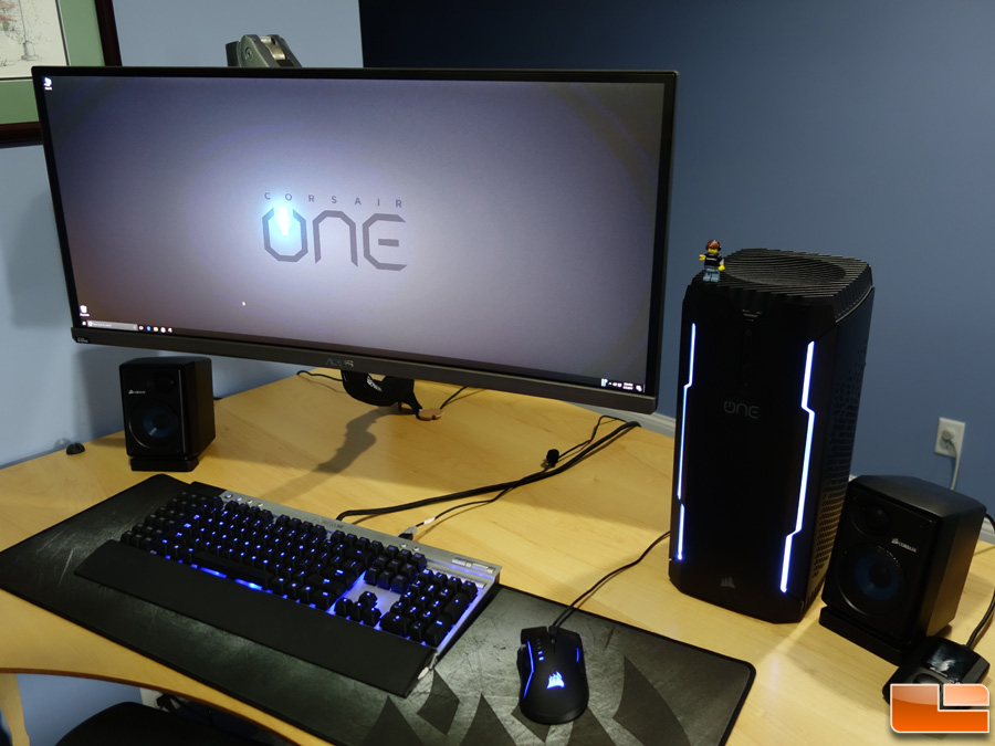 corsair one pro 1080 ti compact gaming pc review legit. Black Bedroom Furniture Sets. Home Design Ideas