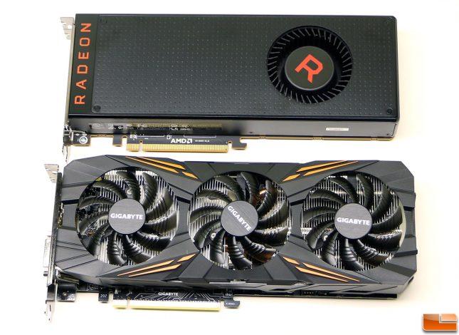 AMD Radeon RX Vega 56 versus NVIDIA GeForce GTX 1070