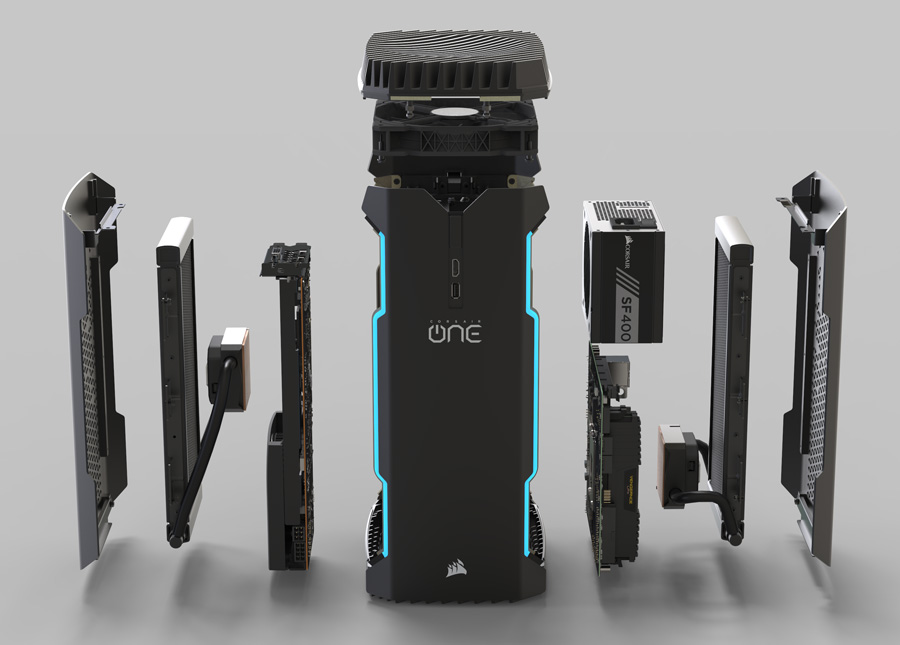 Corsair One Pro 1080 Ti Compact Gaming PC Review - Legit