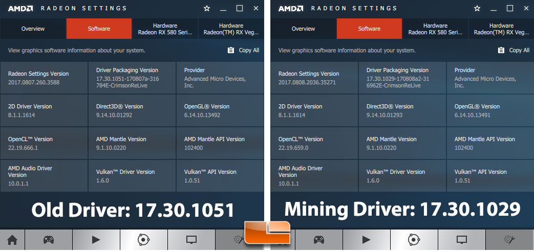 AMD's New Mining Block Chain Optimized Driver Tested - Legit